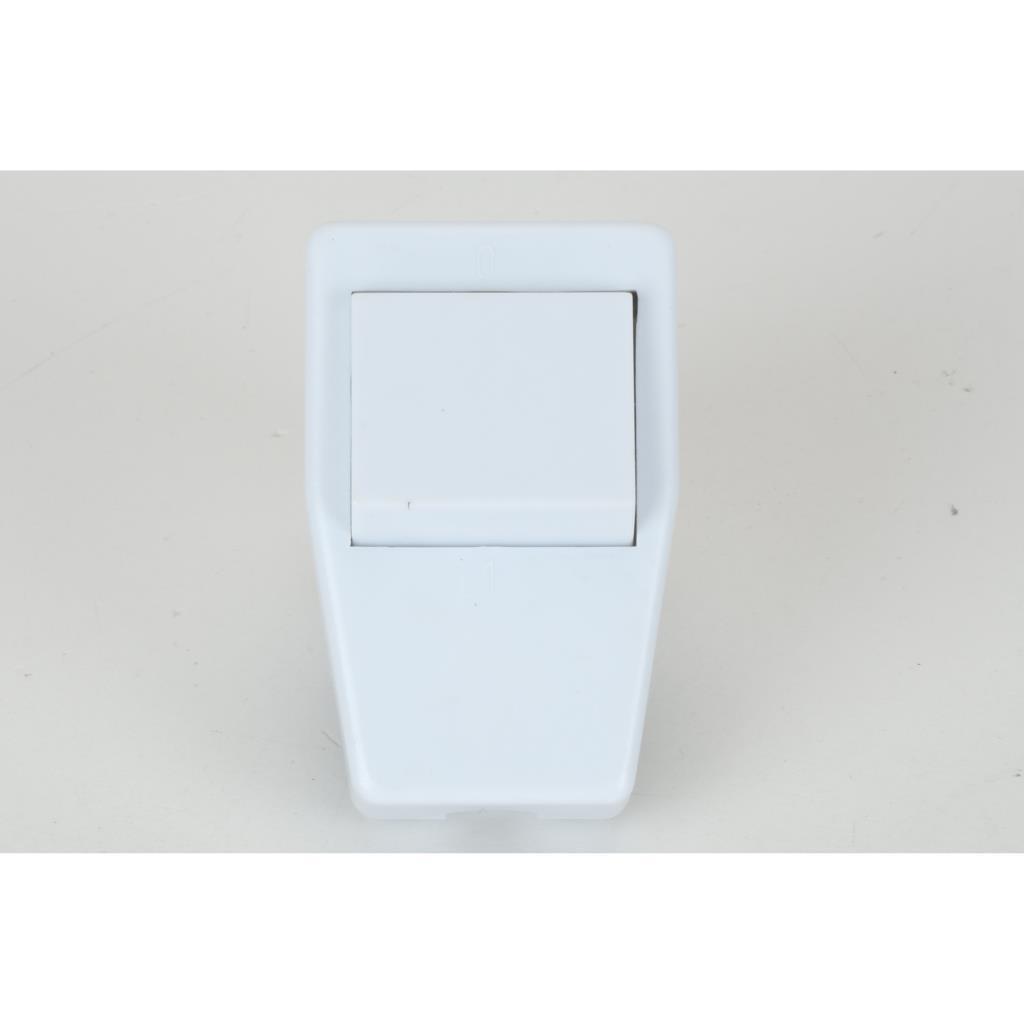 Schuko Winkelstecker weiß mit Schalter Schutzkontakt-Stecker Schukostecker 16A,OKKO,KF-CRK1, 4772013040781