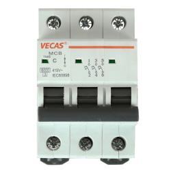 Leitungsschutzschalter Sicherungsautomat  C, 3-polig, 40A LS-Schalter,Vecas,L7-40-3-C, 4770364100314