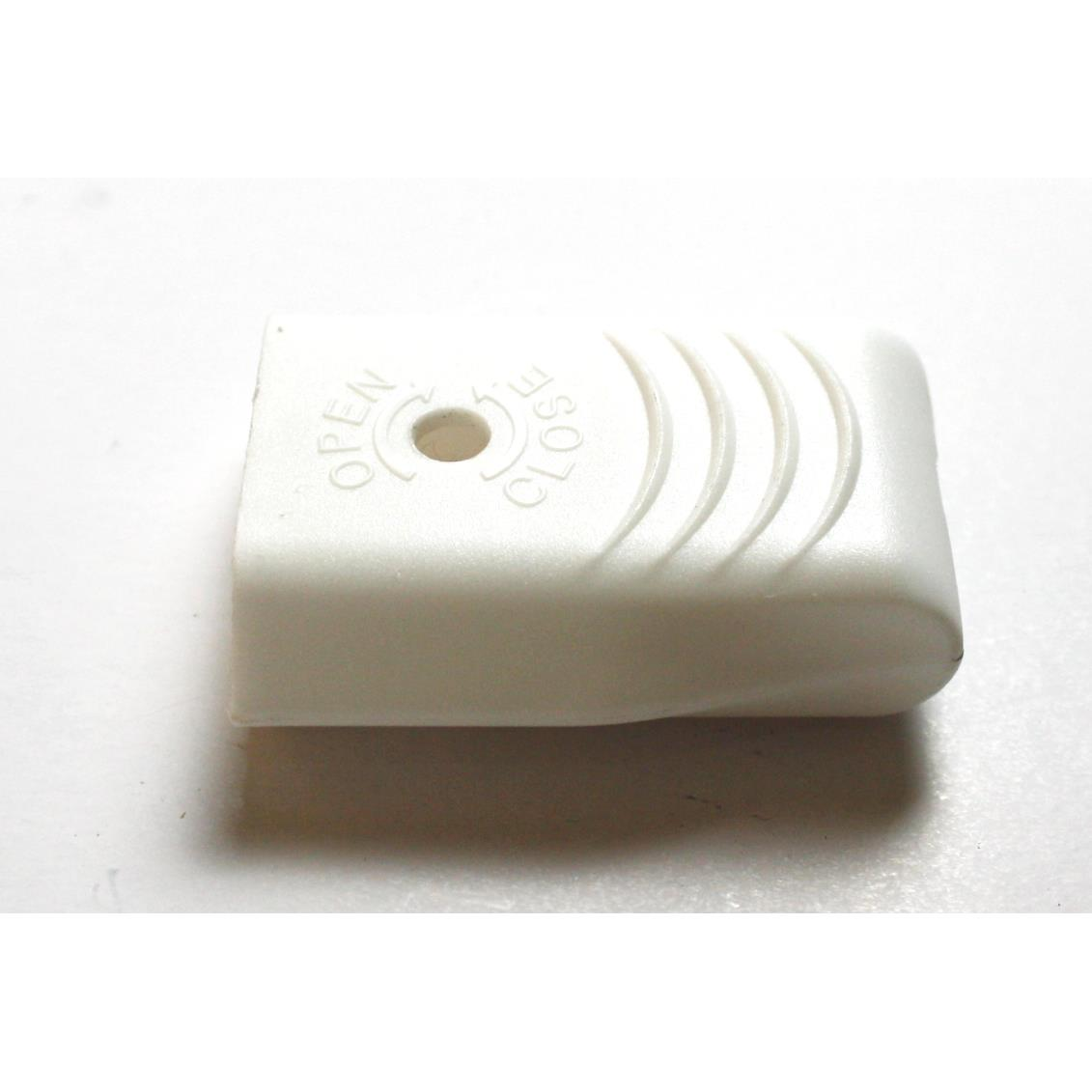 Eurostecker gerade flach Weiß Netzstecker Euro Stecker Stromstecker 230V 2,5A ,OKKO,KF-GRC-1, 4772013040804
