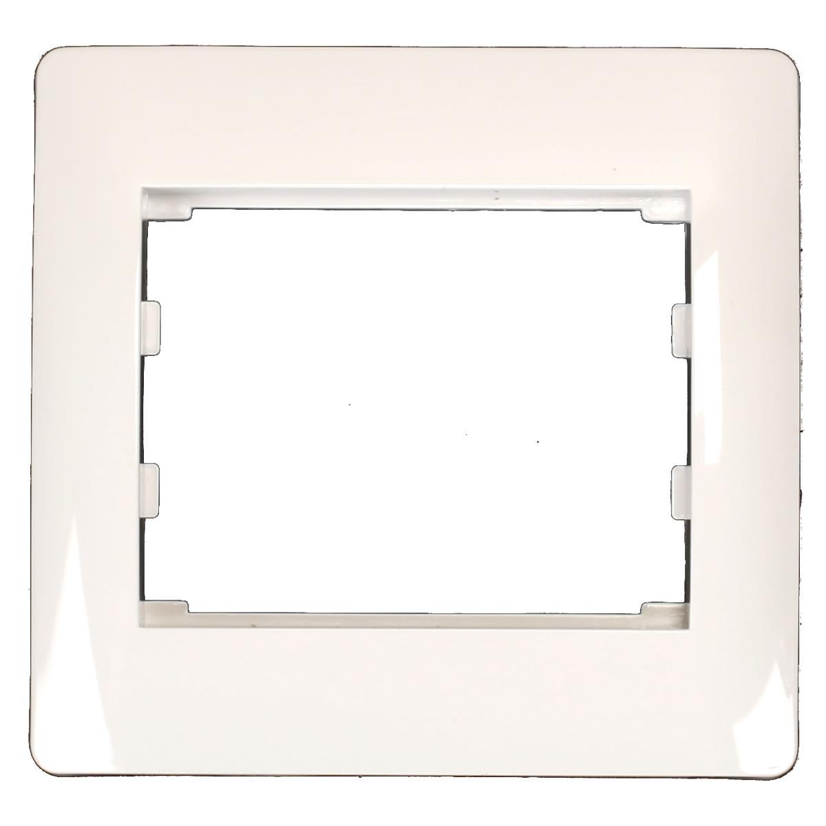 Einfach Rahmen Steckdose Schalter Lichtschalter weiß Serie TAILI