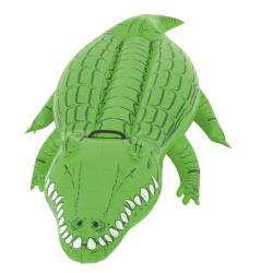 Bestway Schwimmtier Krokodil Wassertier Aufblastier Badetier, 168x89cm