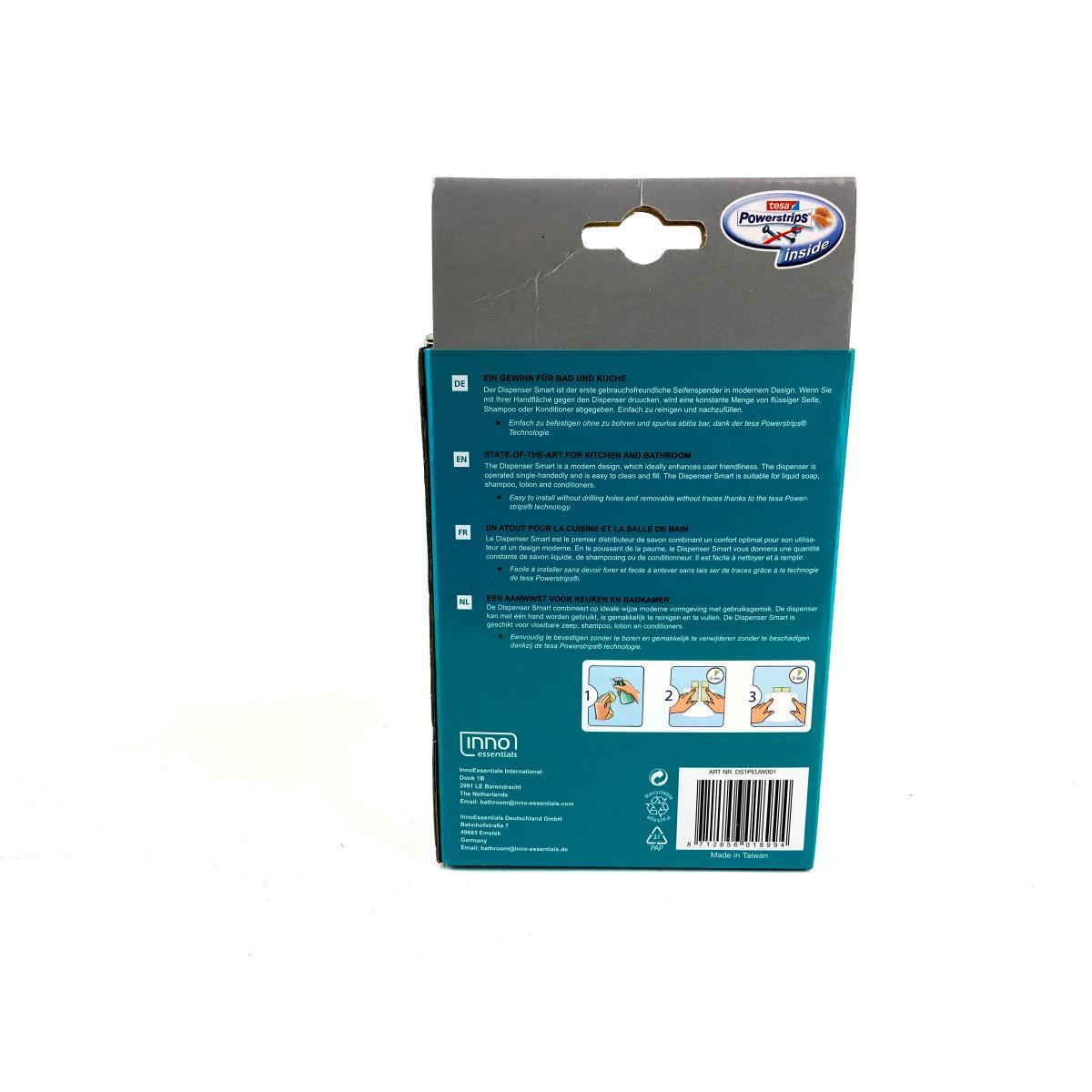 Dispenser seifenspender wandmontage fl ssigseifenspender farbe wei ohne bohren - Seifenspender wand ohne bohren ...