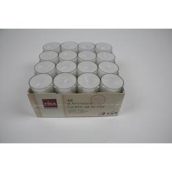 Eika Kerzen Lichter Brenndauer ca. 8 h 48 Stück TEELICHTER Teelicht Kerze