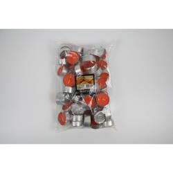 Flavour by Gala Duftkerzen Teelichter Orange 60 St.