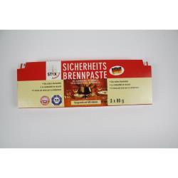 Styx Sicherheits Brennpaste 3 X 80 g für Fondue und Flambierrechauds