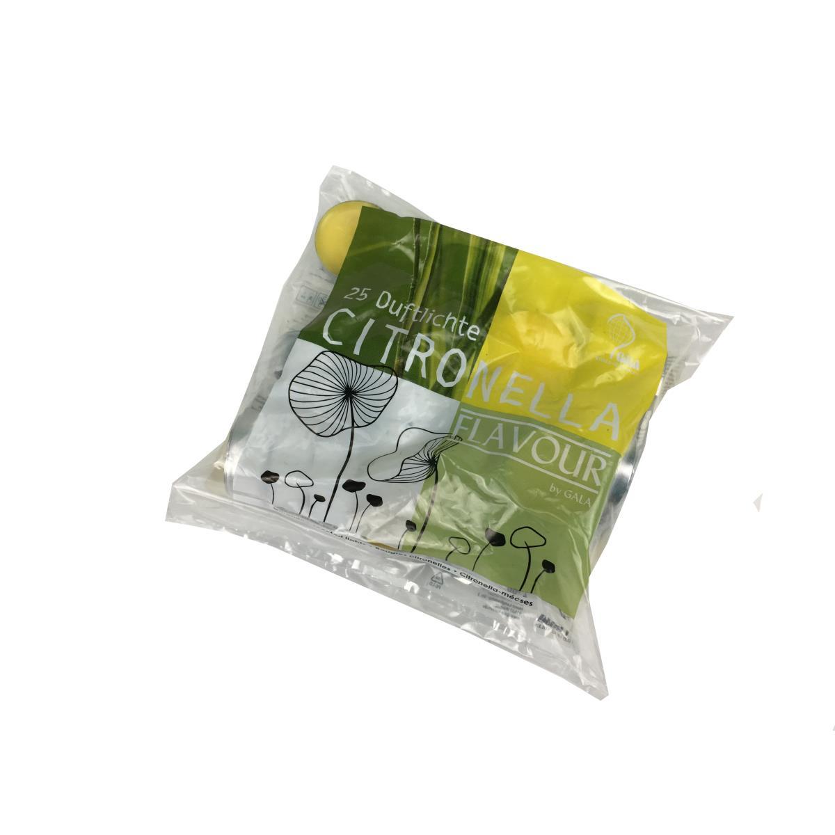 Citronella Duftlichter Outdoor Mückenabwehr Anti Mücken Kerzen Zitronen Duft,Gala,4008495306252, 4008495306252