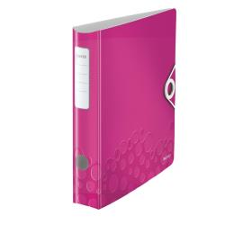 Leitz Multifunktions Ordner A4, runder Rücken,  pink, 1 Stück