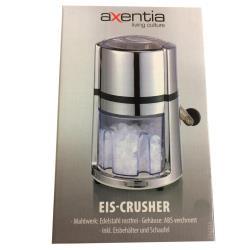 Ice Crusher Maker Eis Crusher Icemaker verchromt  Eisbehälter und Schaufel