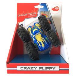 Dickie Spielzeug Toys Action Crazy Flippy Auto Überschlagfahrzeug beidseitig