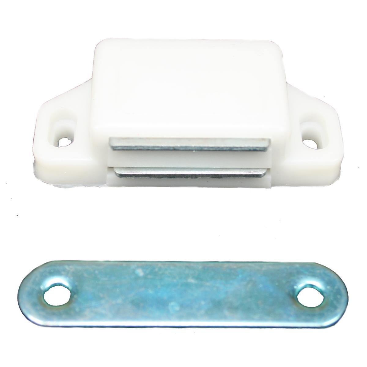 10 Magnetschnäpper Schrank Türmagnet Magnet-Schnapper Möbelmagnet Weiss,Vagner SDH,CL3130, 2000511730135