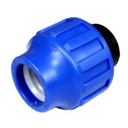 PP Klemmfitting Rohr Verschraubung Trinkwasser DVGW Endkappe Ø25,STP,705025, 8435006800521