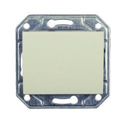Wechselschalter Unterputz 10 A, 230 V creme weiß Serie TAILI