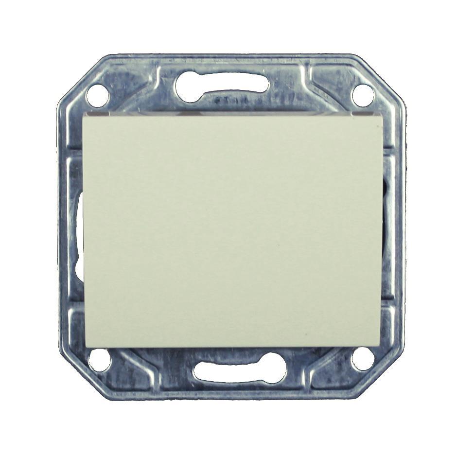 Lichtschalter Unterputz 10 A, 230 V creme weiß Serie TAILI,Vagner SDH,TL1101CRM, 4770364106552