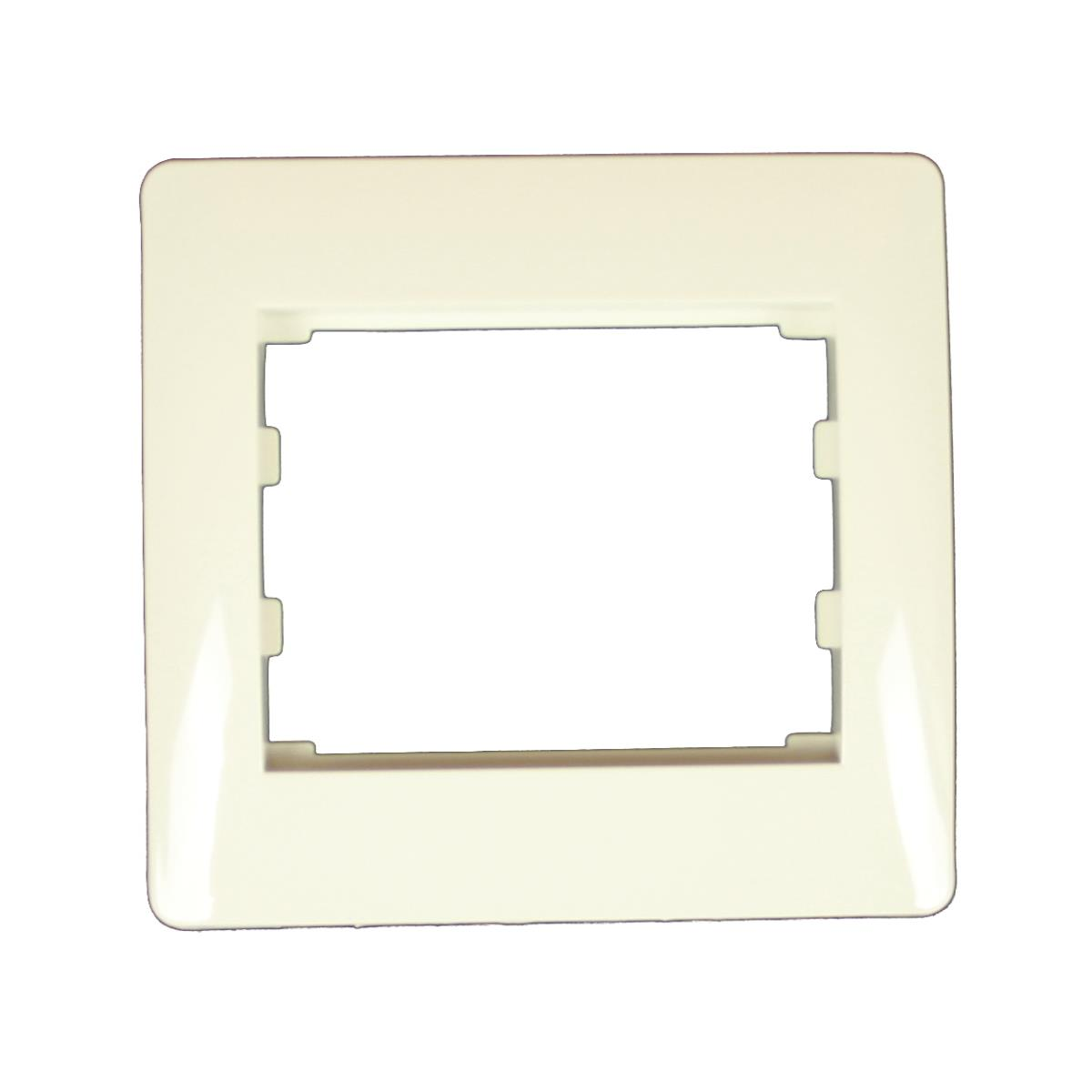 Einfach Rahmen Steckdose Schalter Lichtschalter creme weiß Serie TAILI