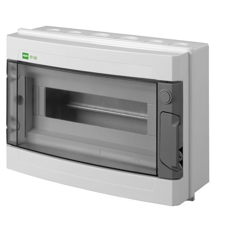 Sicherungskasten 13 Module Verteilerkasten IP40 Aufputzverteile EP-LUX PLUS,Elektro-Plast,EP1-131904-01, 5901752634039