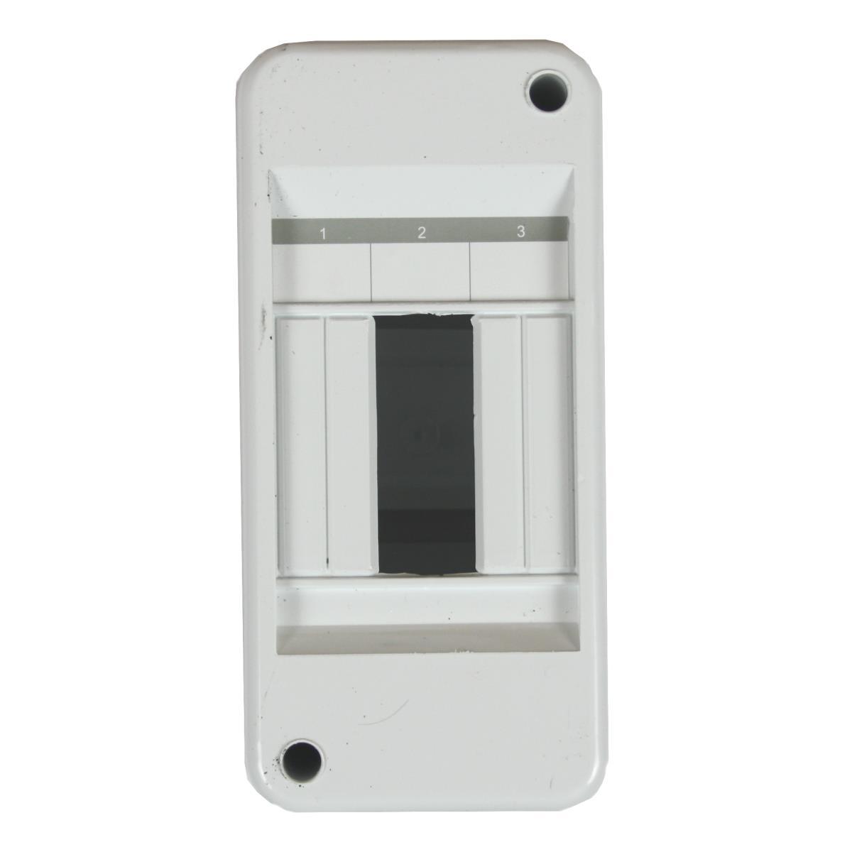 Sicherungskasten Verteilerkasten Aufputzverteiler 3 Module 1-reihig IP30,Elektro-Plast,RNO-3s, 5903978376076