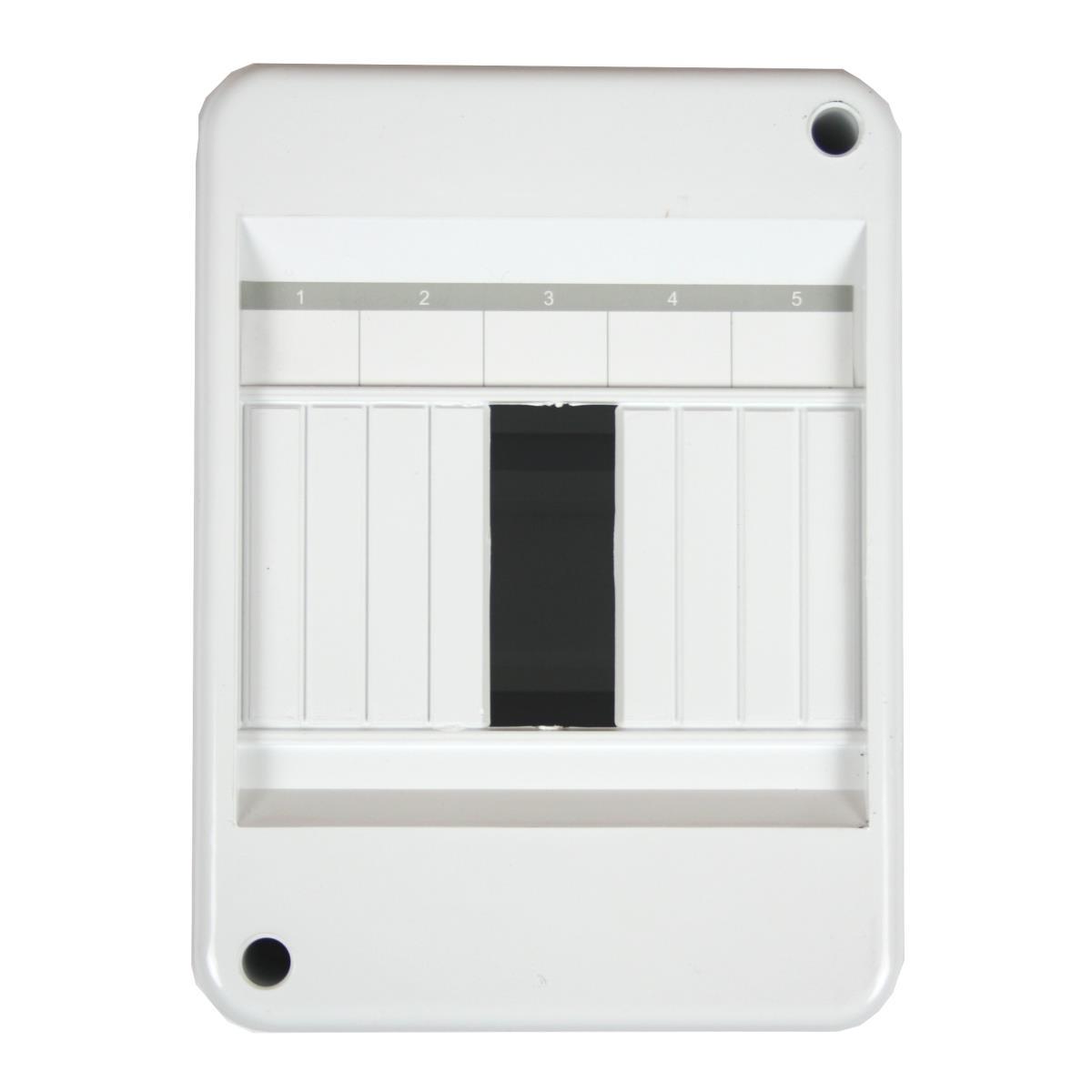 Sicherungskasten Verteilerkasten Aufputzverteiler 5 Module 1-reihig IP30,Elektro-Plast,RNO-5s, 5903978376052